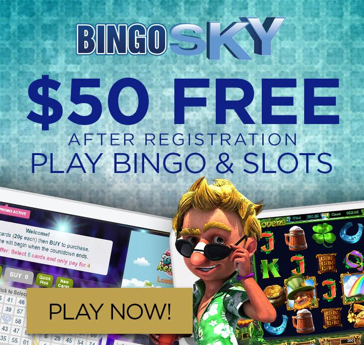 BingoSky free spins exclusive